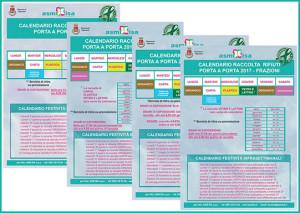 Calendario Alia Prato.On Line I Nuovi Calendari Porta A Porta 2017 Asm Isa S P A